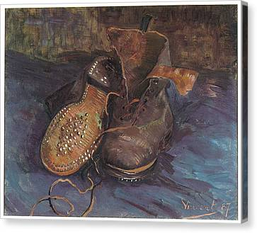 A Pair Of Boots Canvas Print
