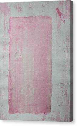 A Paler Shade Of Pink Canvas Print
