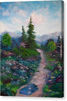 A Path Unknown Canvas Print