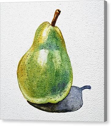A Pear Canvas Print