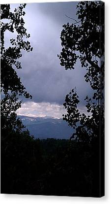 Canvas Print featuring the photograph A Peek At Heaven by Fortunate Findings Shirley Dickerson