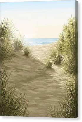 A Perfect Day Canvas Print by Veronica Minozzi