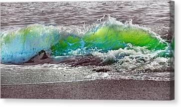 Green Energy Canvas Print - A Perfect Ending by Betsy Knapp