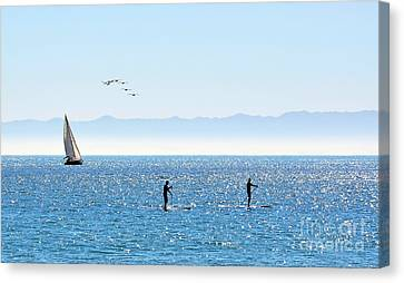 A Perfect Santa Barbara Day Canvas Print