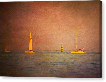 A Perfect Summer Evening Canvas Print by Loriental Photography