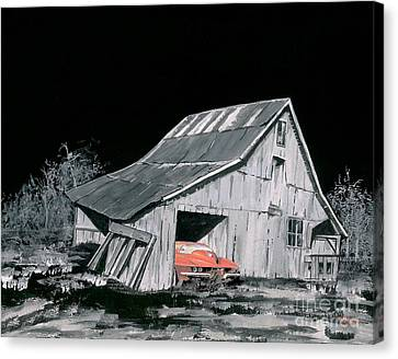 A Picker's Dream Canvas Print by Reba Brew