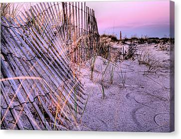 A Pink Sunrise Canvas Print by JC Findley