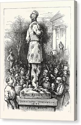 A Pity, Democratic Nomination 1880, Politics, Political Canvas Print