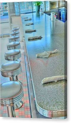 A Place To Eat Canvas Print by Kathleen Struckle