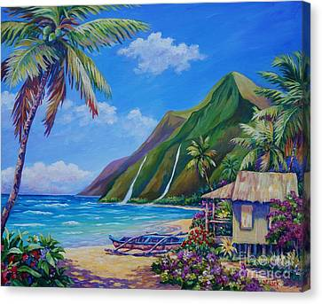 A Place To Play Canvas Print by John Clark