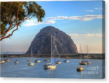A Pleasant Day In Morro Bay Canvas Print