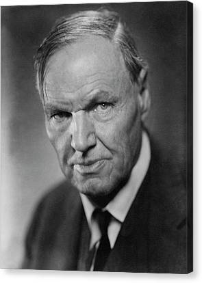 A Portrait Of Clarence Darrow Canvas Print