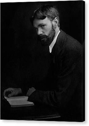 A Portrait Of D.h. Lawrence Canvas Print