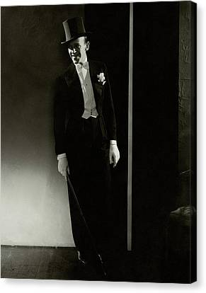 A Portrait Of Fred Astaire Canvas Print by Edward Steichen