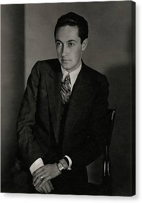 A Portrait Of Irving Grant Thalberg Canvas Print