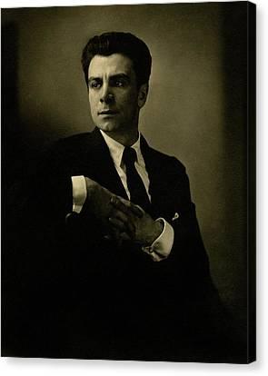 A Portrait Of Jacob Ben Ami Canvas Print