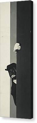 A Portrait Of Johnny Hudgins In Blackface Canvas Print by George Hoyningen-Huen?