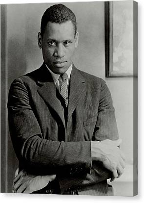 A Portrait Of Paul Robeson Canvas Print