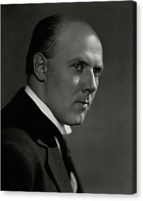 A Portrait Of Walter Gieseking Canvas Print by Nickolas Muray