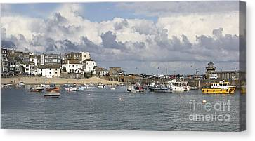 A Postcard From St Ives Canvas Print by Terri Waters