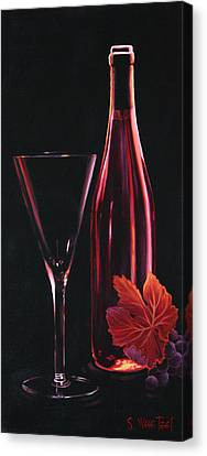 A Prelude To Romance Canvas Print by Sandi Whetzel