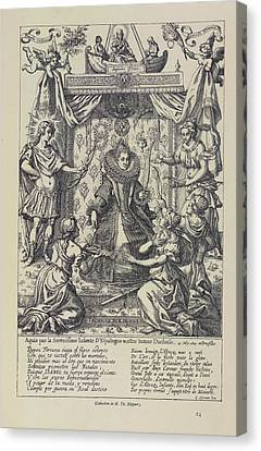 Bruxelles Canvas Print - A Queen by British Library