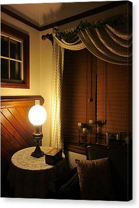 A Quiet Little Corner Canvas Print by Guy Ricketts