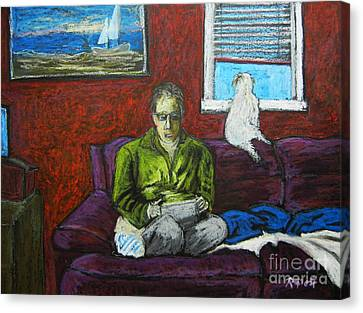 A Quiet Moment Canvas Print by Reb Frost