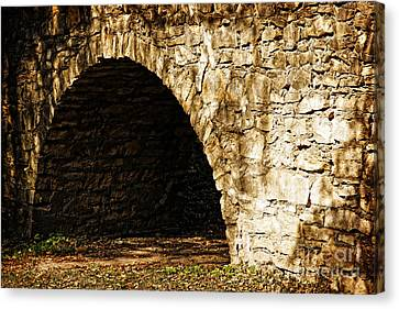 A Quiet Path Through Stone Canvas Print by Lincoln Rogers