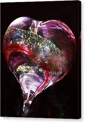 A Rainbow's Heart Canvas Print by The Art Of Marilyn Ridoutt-Greene