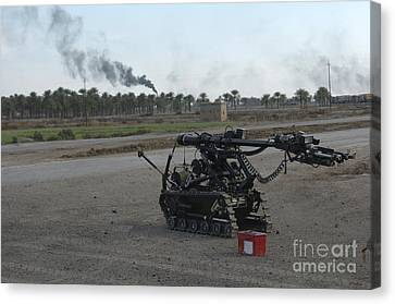 A Remote Controlled Vehicle Used Canvas Print by Andrew Chittock