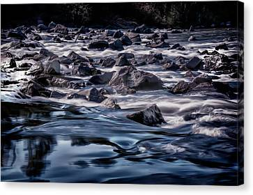 A River Called Iller Canvas Print by Patrick Boening
