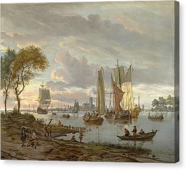 A River View Canvas Print