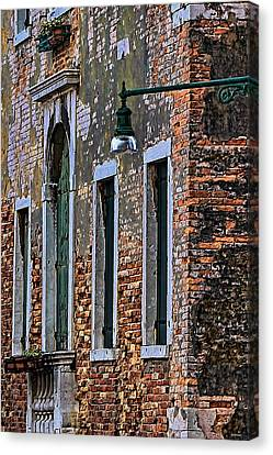 A Room In Venice Canvas Print by Tom Prendergast