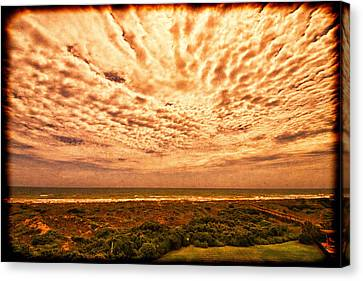 A Room With  A View Canvas Print by J Riley Johnson