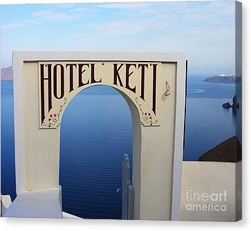 A Room With A View Canvas Print