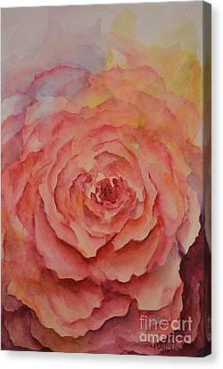 A Rose Beauty Canvas Print by Kathleen Pio