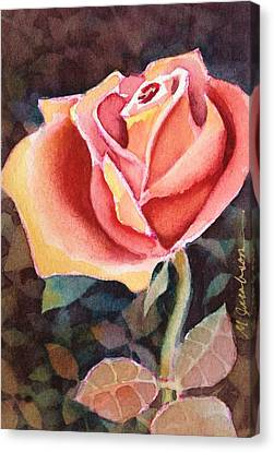 Canvas Print - A Rose For You by Marilyn Jacobson