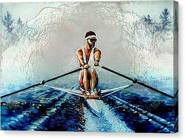 A Rowers Dream Canvas Print