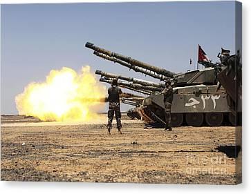 A Royal Jordanian Land Force Challenger Canvas Print by Stocktrek Images