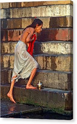 Moksha Canvas Print - A Sacred Place  by Steve Harrington