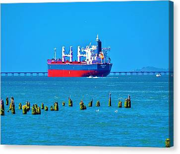 A Safe Harbor Canvas Print