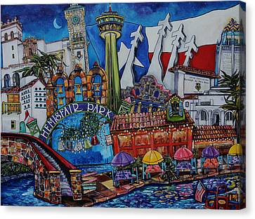 A Salute To San Antonio Canvas Print