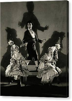 A Scene From Louie The Fourteenth Canvas Print by Edward Steichen