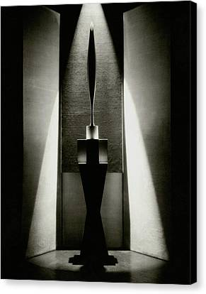 A Sculpture Called The Bird Canvas Print by Edward Steichen