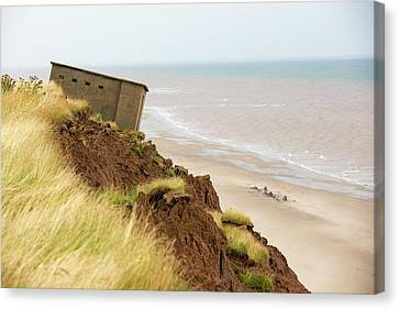 A Second World War Lookout Post Canvas Print by Ashley Cooper