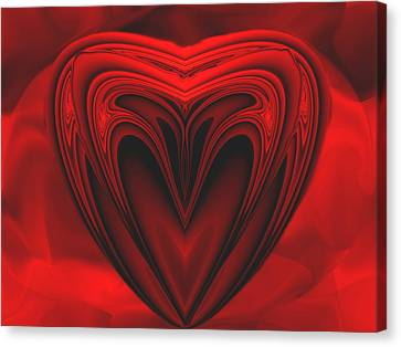 A Secret Love Canvas Print by Wendy J St Christopher