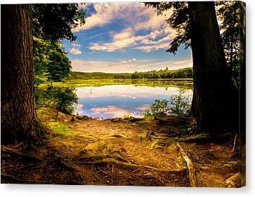 Canvas Print featuring the photograph A Secret Place by Bob Orsillo