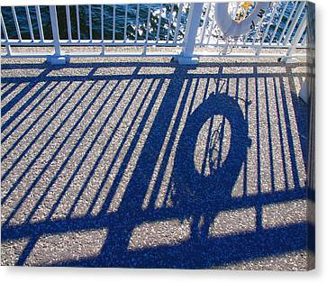 A Shadow Of Safety Canvas Print