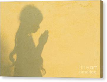 A Simple Prayer Canvas Print by Tim Gainey